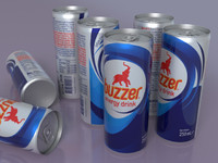 Buzzer Energy Drink Can